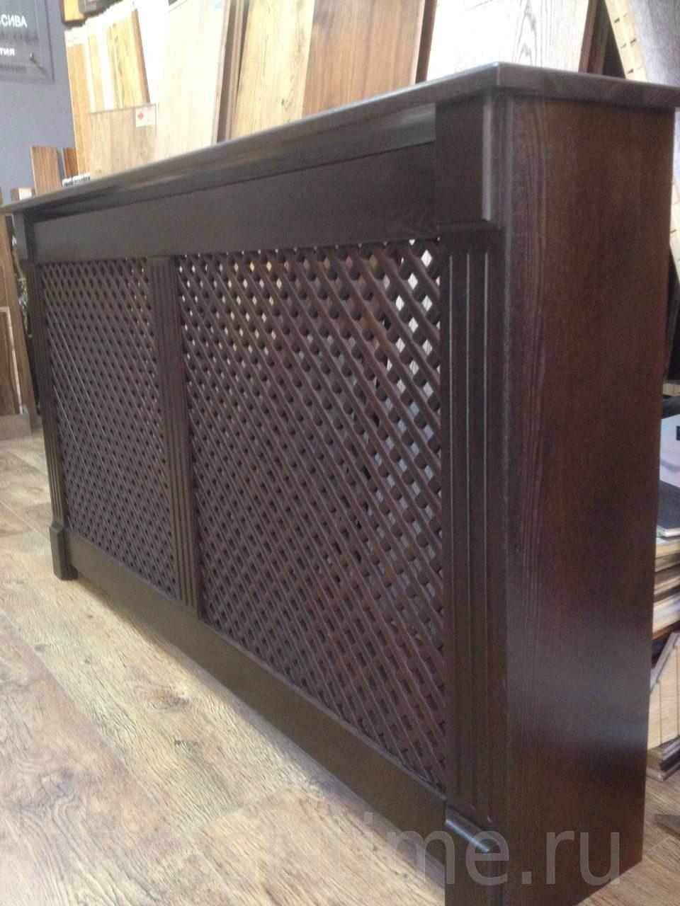 экран кожаный для батареи отопления